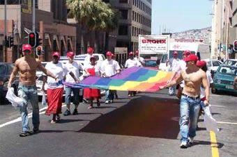 Гей-парад в Кейптауне