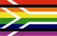Флаг ЛГБТ ЮАР
