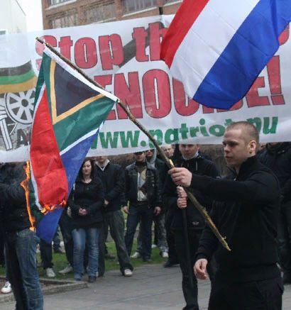 марш-протест в Швеции