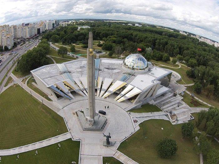Новый музей ВОВ, Минск, открыт в 2014 году