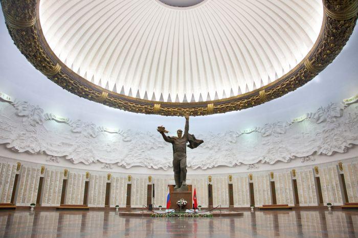 Центральный зал. Музей истории Великой Отечественной войны