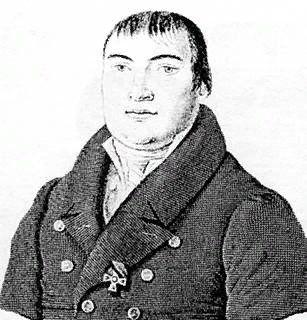 А.Ф. Мерзляков. Гравюра К.Я. Афанасьева, первая четверть XIX века
