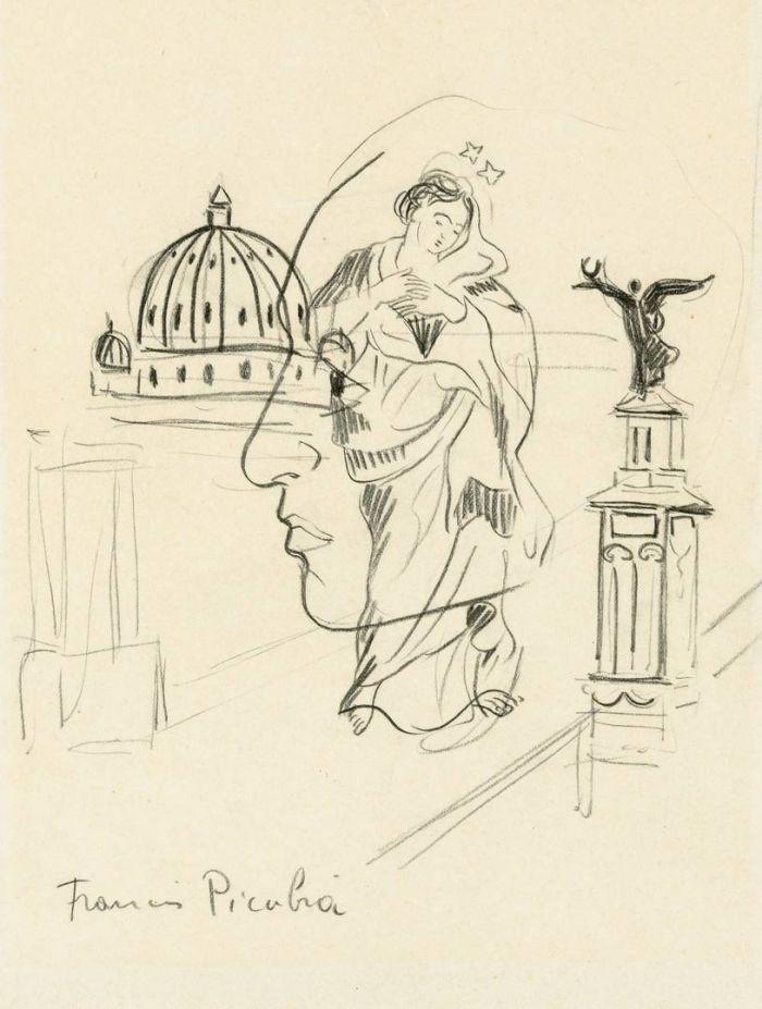 Франсис Пикабиа. Прозрачность. Ок. 1928–1929
