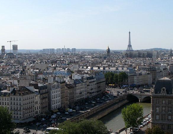 Париж до преобразования