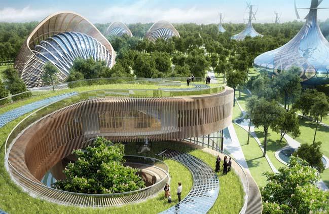 Город будущего по версии архитектора Винсента Каллебо